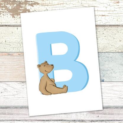 postkarte-baer