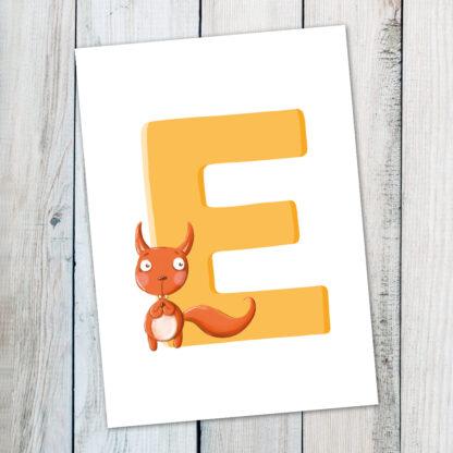 postkarte-eichhörnchen