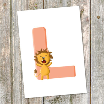 postkarte-loewe