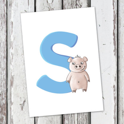 postkarte-schwein