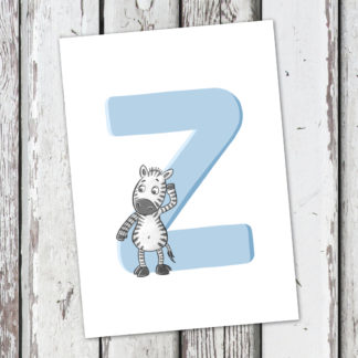 postkarte-zebra