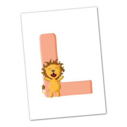 postkarte-löwe